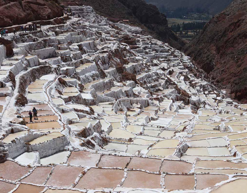 Salineras Maras - Lugares turísticos para visitar en Cusco