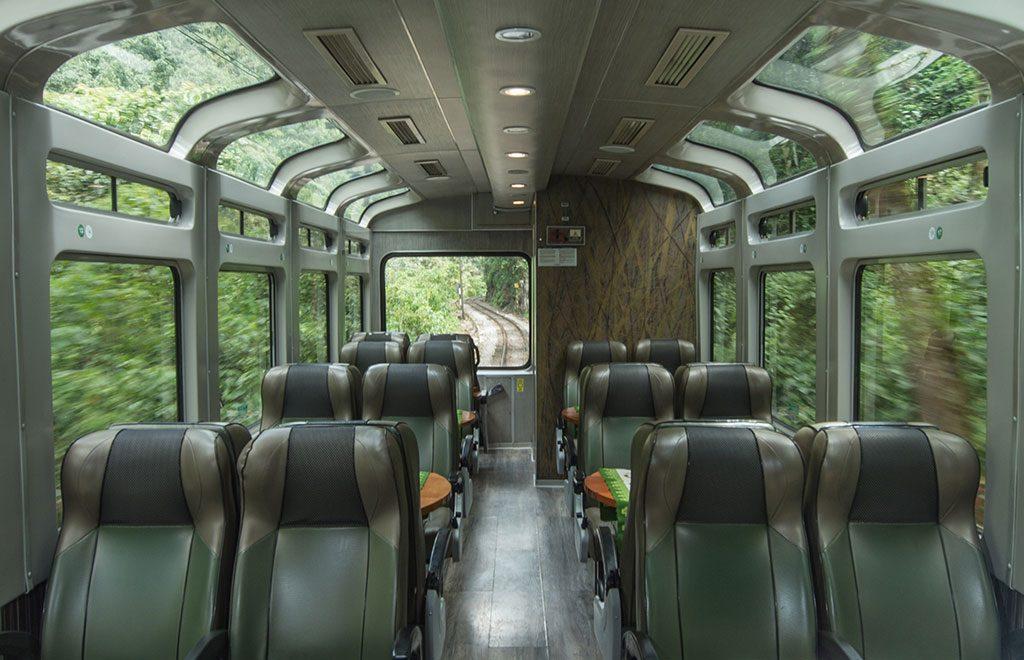 Vistadome - El más popular de Perurail - Tren a Machu Picchu